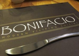 BONIFACIO MID-PRICED FILIPINO RESTAURANT