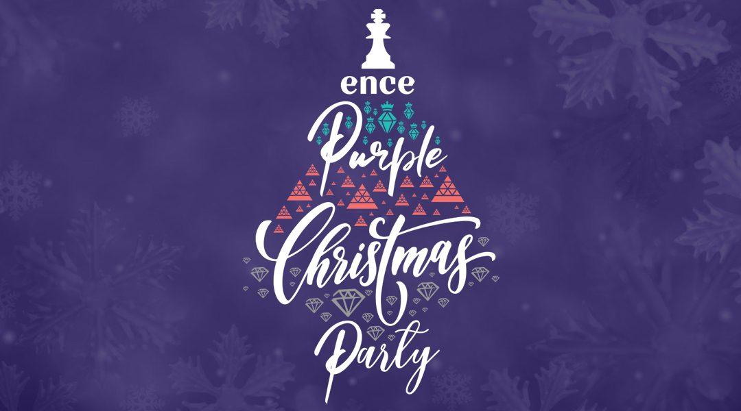 'TWAS AN ENCE PURPLE CHRISTMAS