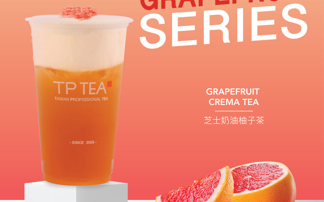 TP TEA COMBINES CITRUSY GOODNESS WITH TEA EXPERTISE IN NEW GRAPEFRUIT SERIES